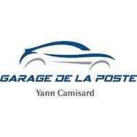 GARAGE DE LA POSTE Yann Camisard Logo